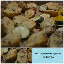 zapiekane ziemniaki z ziołami z pieca