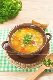 Zupa jarzynowa z indykiem
