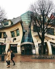 Krzywy dom w Sopocie.