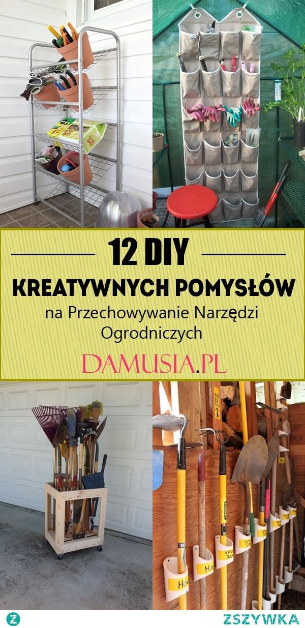 12 DIY Kreatywnych Pomysłów na Przechowywanie Narzędzi Ogrodniczych
