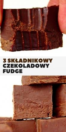 Czekoladowy fudge z 3 skład...