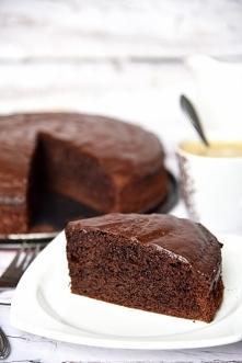 Proste ciasto czekoladowe (...