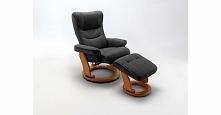 Niezwykle komfortowy fotel telewizyjny do salonu. Naturalna skóra i pełna reg...