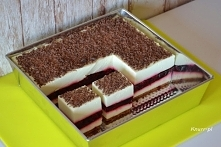 Czeska wiśnia - ciasto bez pieczenia