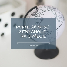Popularność Zentangle na św...