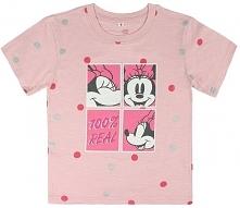 Disney Koszulka Dziewczęca Minnie 92 Różowy