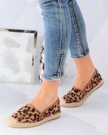 Espadryle Leopard od Pantof...