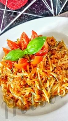 Na podwieczorek spaghetti w...