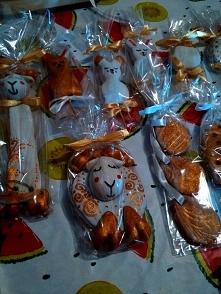 Wielkanocne ozdoby z masy s...