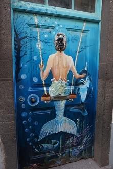 Funchal - Sztuka uliczna
