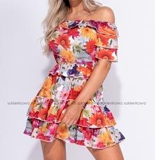 LOCCA - Sukienka hiszpanka ...