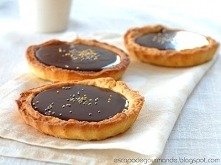 Tarteletki z ganachem czekoladowym