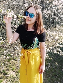 Sister's style :) spring is coming