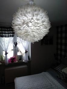 lampa z piór