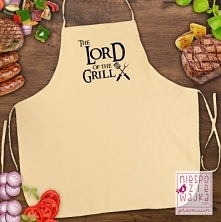 """Fartuch kuchenny """"The Lord of the Grill"""""""