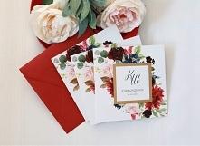 piękne zaproszenia ślubne w...