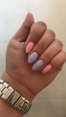 Purple nad pink
