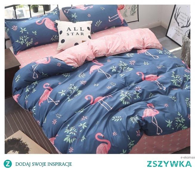 Pościel flamingi dwustronna 160x200 to idealny wybór dla łóżek dwuosobowych. Zapraszamy!