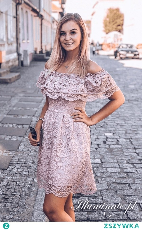Sukienka hiszpanka na lato z kolekcji illuminate.pl <3