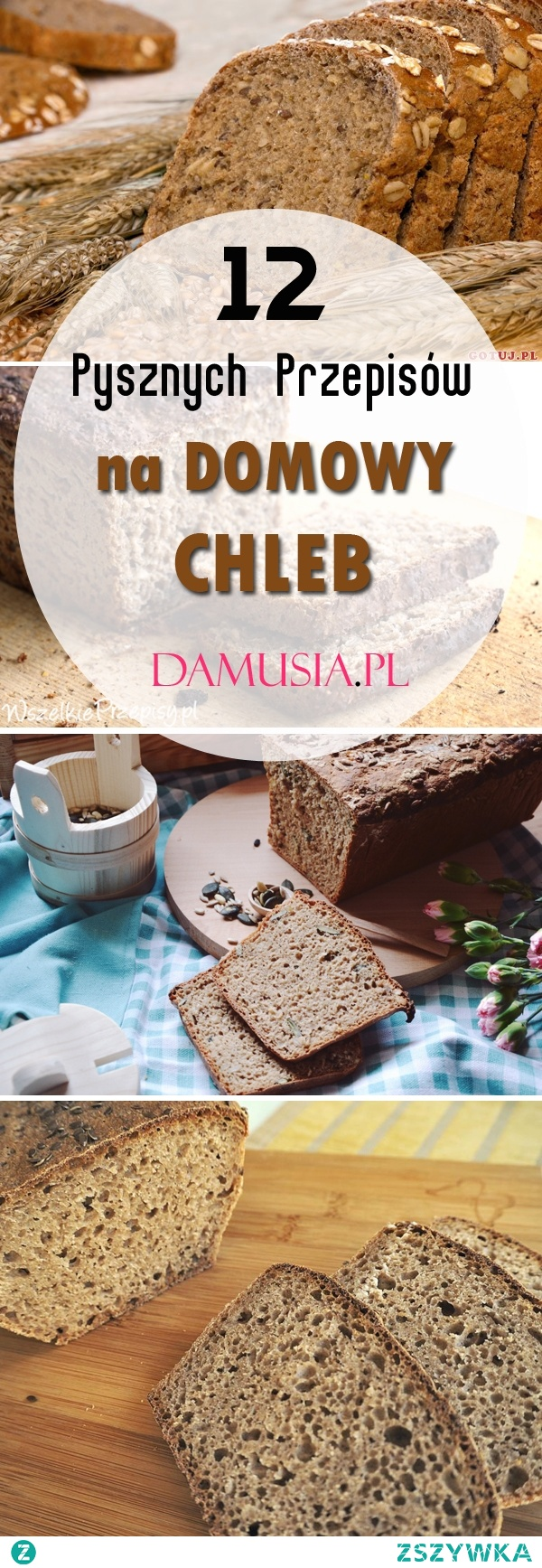 Jak Upiec Pyszny Chleb: TOP 12 Przepisów na Domowy Chleb