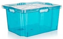 Keeeper Pudełko Multi-Box Z Wieczkiem Xl 43 X 35 Cm, Niebieskie