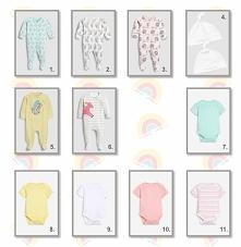 zestaw ubrań dla noworodka ...