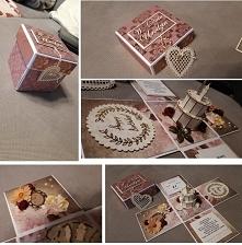 Box urodzinowy vintage