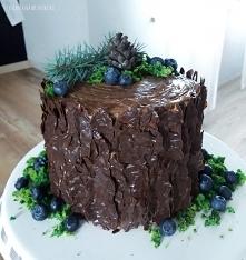 Mega prosty, a zarazem efektowny tort - tak to jest tort :D przepis na tort i...