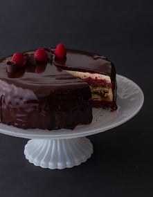 Tort z lustrzaną glazurą – ...