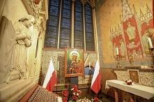 Polska kaplica w Notre Dame...