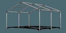 Hale namiotowe to duże, przestrzenne konstrukcje. Wykonane są z ocynkowanych ...