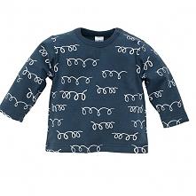 Pinokio Bluzka Dziecięca Happy Llama 104 Niebieska