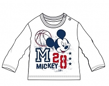 Disney By Arnetta Koszulka Chłopięca Mickey Mouse 80 Biała