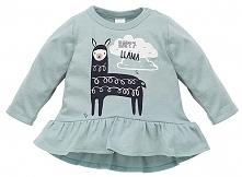 Pinokio Tunika Dziewczęca Happy Llama 104 Zielona