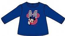 Disney By Arnetta Koszulka Dziewczęca Minnie 86 Niebieska