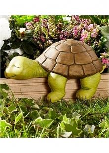 Słodki żółwik, bardzo fajna dekoracja do domu lub ogrodu :*** Kliknij w zdjęc...