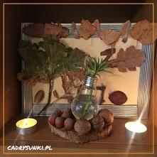 Dekoracyjny szklany wazon