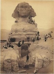 The Sphinx, circa 1850, Giz...