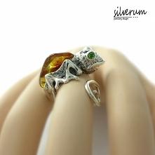 Kameleon wyjątkowy pierścio...