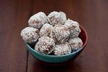 Trufle kokosowo-czekoladowe...
