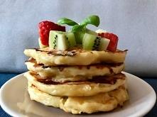 FIT Śniadanie - Placki z serka wielskiego to szybkie, pożywne, lekki i sycący...