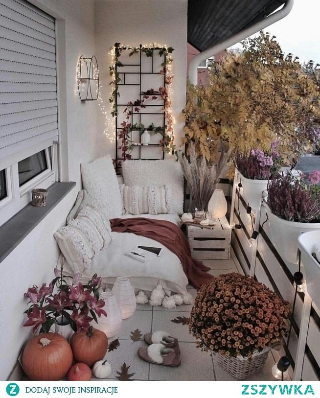 piękny balkon
