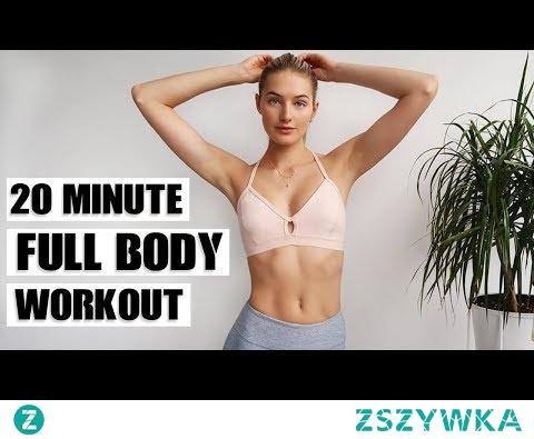 20 MIN Full Body Workout   Cardio, Strength, & Balance   Sanne Vloet