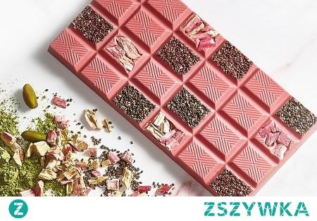 Różowa czekolada