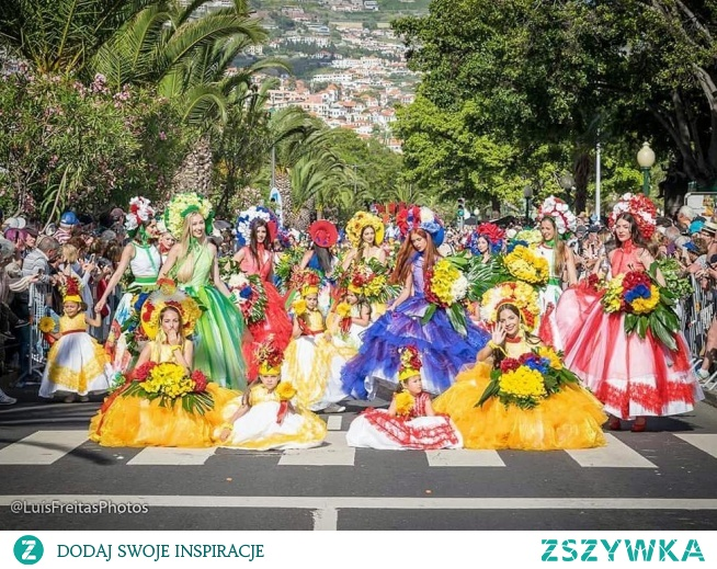 Festiwal Kwiatów i Parada Kwiatów na Maderze w Portugalii - 2019