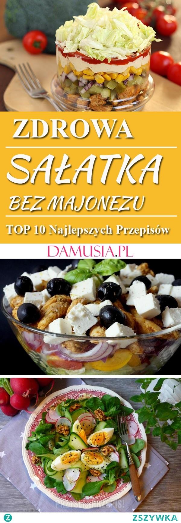 Zdrowa Sałatka Bez Majonezu – TOP 10 Najlepszych Przepisów na Sałatkę Która Nie Pójdzie w Biodra!
