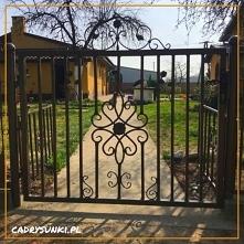 Bardzo wytrzymała brama sta...