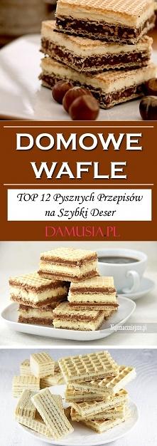 Domowe Wafle – TOP 12 Pysznych Przepisów na Szybki Deser