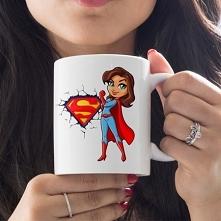 Kubek Super Mama z imieniem