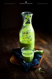 Zielony shake = zdrowie w szklance
